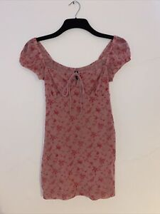 Motel Rocks Pink Mini Dress