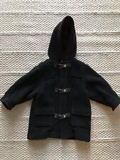 Jacadi Grey Wool Cashmere Duffle Coat Aged 2