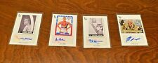 Topps 75th 4-Card Autograph Auto Lot Bill Mumy Mark Goddard Lost In Space X-Men+