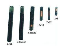 5PCS Micro Small Glass Tag 125KHz RFID EM Proximity Induction Token 2.12 x12mm