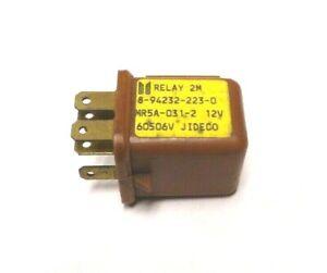 GENUINE ISUZU 8-94232-223-0 MAIN RELAY (Brown 6 Pin)(JIDECO)