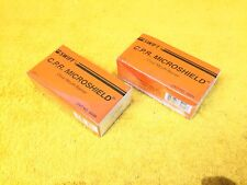 ***NEW*** LOT OF (2) SWIFT 400M C.P.R. MICROSHIELD CLEAR MOUTH BARRIERS