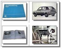 VW Golf 2 Betriebsanleitung Bedienungsanleitung 1984