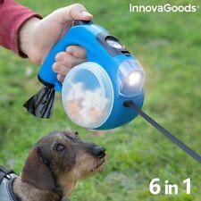Hundeleine mit LED, Leine, Hundegurt Gurtleine Seilleine Flexileine Rollleine