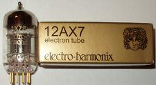 Electro Harmonix 12AX7/ECC83 pre-amp tubes,Gold Pin, NEW, Balanced Triodes