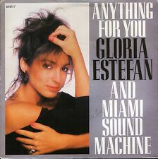 "GLORIA ESTEFAN anything for you/spanish version 651673 7 epic 1988 7"" PS EX/EX"