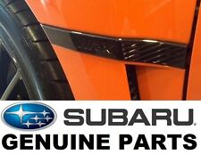 11-14 Subaru WRX JDM OEM Limited Black Fender Badge Emblem Set KITWRX2011-2014