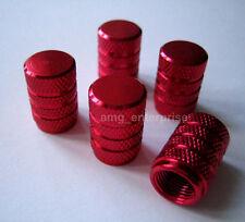 All Red Alloy Dust Valve Caps for Hyundai Getz Accent Tucson Amica Matrix i800