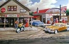 Ken Zylla Popple Creek Store SN Country General Store Print 28 x 18 Plus Borders