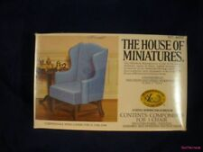 Dollhouse HOUSE OF MINIATURES WING CHAIR CHIPPENDALE
