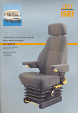 Isri 6000/517 Wohnmobil- Transporter-Sitz Prospekt 2002 brochure seat motorhome