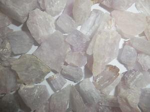 Kunzite Spodumene Crystal Stone all Lilac 1 to 10 gram small pieces 50 gram Lot