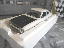 FORD Capri Coupe MKI RS2600 RS 2600 1970 weiss white schwarz LHD Minichamps 1:18