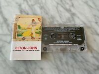 Elton John Goodbye Yellow Brick Road CASSETTE Tape Rocket Bennie And The Jets