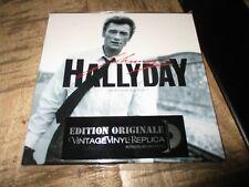 JOHNNY HALLYDAY- ROCK N ROLL ATTITUDE-RARE CD VINTAGE REPLICA VINYL