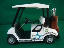 Cronulla Sharks Custom Golf Cart Buggy 1:24 Clubs League Driver Iron Putter Ball