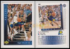 NBA UPPER DECK 1993/94 - Reggie Miller # 148 - Pacers - Ita/Eng - MINT