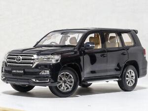 1:18 Kengfai Toyota Land Cruiser 200 Black Metallic RHD