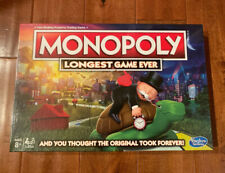Hasbro Monopoly Longest Game Ever Amazon Exclusive Board Game - IN HAND