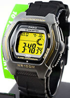 Casio HDD-600G-9A Men's Digital Watch Gold Colour 100M WR 10 Year Battery New
