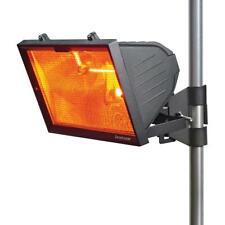 Knightsbridge 1300W Outdoor Infrared Patio Garden Wall Heater Black - HEOD1309BK
