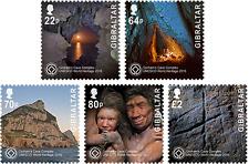 "Gibraltar - 2016 ""UNESCO Gorham's Cave Complex"" Set"