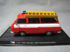 AMER COM 1/43 Scale Skoda Taz 1203 -1981 Czech Fire Vehicle Diecast Model Truck