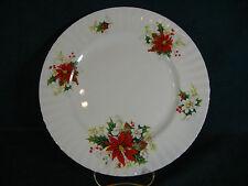 Royal Albert Poinsettia Christmas Pattern Dinner Plate(s)