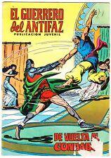 EL GUERRERO DEL ANTIFAZ (Reedición color) nº:  79.  Valenciana, 1972-1978.