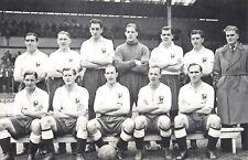 Nostalgia Postcard 1950-51 Tottenham Hotspurs Football Team Repro Card NS18