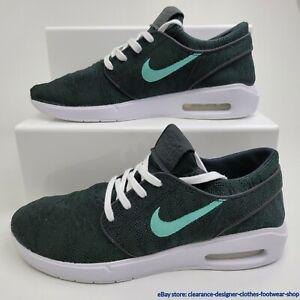 Nike SB Air Max Janoski 2 Trainers Skate Stefan Black Mint Sneakers RRP £110