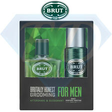 Brut Original Prestige 2 Piece Aftershave & Deodorant Gift Set For Men