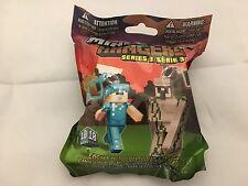 NUOVO-Minecraft APPENDINI-Series 3 - (IL PORTACHIAVI Portachiavi Cintura Borsa) - (Venditore Regno Unito)