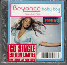 "MINI CD 3T - 8 CM  / BEYONCE   ""BABY BOY""  (NEUF SCELLE)"