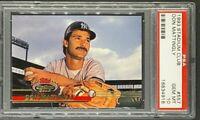 1993 Stadium Club #557 Don Mattingly New York Yankees PSA 10 Gem Mint POP 21