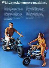 1972 SUZUKI RV90J MT50J SALES AD