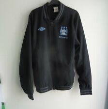 Umbro Man City Manchester City Black Bomber Jacket 2012 2013 Size Large L Etihad