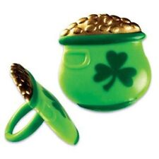 12  St. Patrick's Day Cupcake Rings Pot of Gold Cupcake Decoration  NEW!!!