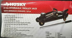 Husky 2 Ton Hydraulic Trolley Car Jack