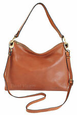 Gianni Conti Italian Fine Leather Tan Shoulder Handbag Bag - 916838