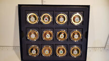 More details for (lot 776) 2013 guernsey squadrons of the royal air force gold plated 12 coin