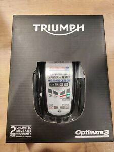 Genuine Triumph Optimate 3, SAE, UK Model A9930410