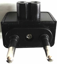 Apple Macbook Wall Charger, 2 Pin Euro Plug to Figure 8 MagSafe AC Power Adaptor