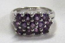 Gems TV Round Cluster Fine Rings