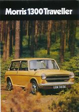 Morris 1300 Traveller Nov. 1971 Original UK Sales Brochure Pub. No. 2838/A