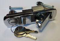 Chrome Compression Latch Lever Latch Lock for Locker, Horsebox, Trailer, C2