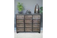 Retro Urban Vintage Industrial Sideboard chest sideboard cabinet 101cm