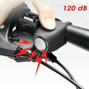 Bicycle Electric Bells Bike Ring Electronic Horn Loud Alarm 2021 Super Bike Horn