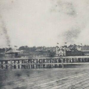 Ocean Park Santa Monica California 1906 Bristol Pier Cityscape Docks Photo J106