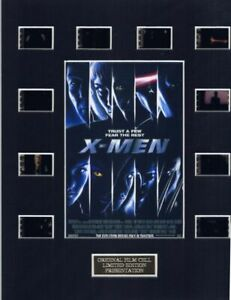 X-Men (2000) Authentic 35mm Movie Film Cell 8x10 Matted Display - w/COA